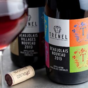 Вино Beaujolais Nouveau Trenel 2019 года