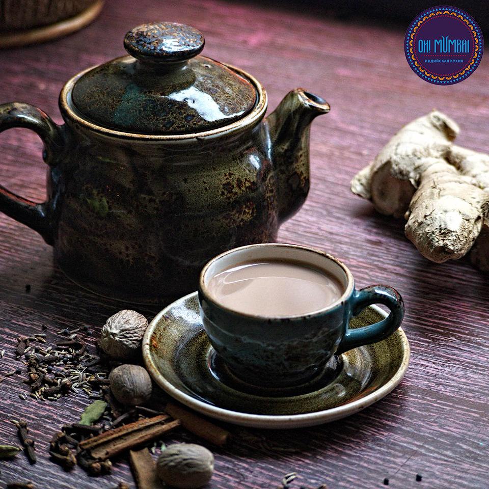 Масала Чай - традиционный чай с специями и молоком.